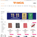 $11 off ($110 Minimum Spend) or $30 off ($250 Minimum Spend, Standard Chartered Credit Cards) at TANGS