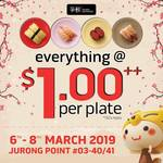 Everything at $1++/Plate at Sushi Express (Jurong Point)
