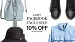 10% off at H&M (Facebook Like Required)