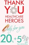 20% + 5% off Gem-Set Jewellery for Healthcare Workers @ Goldheart (Velocity)