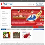 $12 off at NTUC FairPrice ($200 Minimum Spend, New Customers)