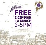 Free Hot Coffee at Olivia & Co (Suntec North Atrium, 3pm to 5pm)