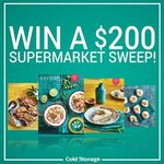 Win a $200 Supermarket Sweep from Cold Storage