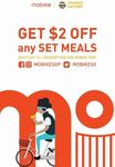 $2 off Any Set Meal at Churros Factory by Travelling to Any Outlet with Mobike