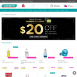 Watsons Valentine's Day Online/App Exclusive - $20 off ($80 Minimum Spend)