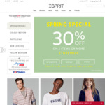 Buy 2+ Items, Get 30% off at Esprit (Esprit Friends Members)