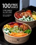 Free Poke Bowls (First 100) and 1 for 1 Bowls All Day Long at A Poke Theory (Somerset)