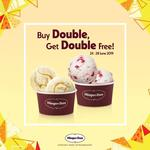 Häagen-Dazs - 1 for 1 Double Scoops (Monday 24th to Friday 28th June)