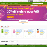 10% off (US $60 Min Spend) Sitewide at iHerb