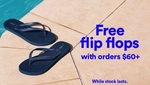Free Flip Flops ($60 Min Spend) at Cotton On