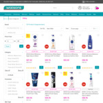 $5 off ($25 Min Spend) on Nivea Products at Watsons