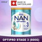 Nestle NAN Optipro Stage 3 800g $17.90 + $1.99 Delivery @ Milkbar.sg via Qoo10
