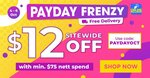 $12 off ($75 Min Spend) Sitewide at Watsons