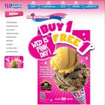 Wednesdays Be Pink and Get a Free Junior Scoop at Baskin Robbins with Value Scoop Purchase