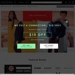 18% off Sitewide at Zalora ($110 Minimum Spend)