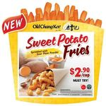 Cup of Sweet Potato Fries with Sour Plum Powder for $2.90 at Old Chang Kee