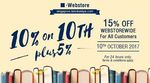 Kinokuniya: ALL Customers Enjoy 15% off Books at Online Store - Only on 10 Oct 2017