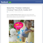 Free Pack of Mamy Poko 44 Large Pants Diapers with Purchase of M/L Tape Nappies on 28/29 Oct at Set NTUC