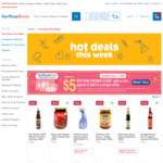Spend $50 and Receive a $5 Return Promo Code at FairPrice