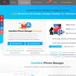 Free Get DearMob iPhone Manager Full License and iPad Mini