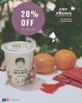 20% off ($10 Min Spend) at Yanmi Yogurt