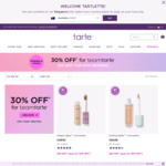 30% off Sitewide for Members at Tarte Cosmetics