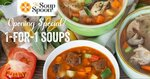 1 for 1 A La Carte Soups at The Soup Spoon Rivervale Mall