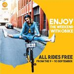 oBike - Unlimited Free Weekend Rides