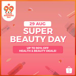 10% off (No Min Spend) or $5 off ($45 Min Spend) on Health & Beauty at Shopee