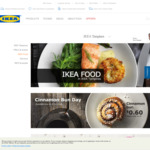 Ikea Family Members - 8 Piece Swedish Meatballs for $0.75 at Ikea Tampines on 6th & 7th Oct (Only First 750 Members)