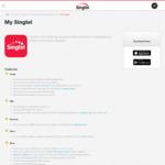 Ya Kun Toast Set Meal at $1 [My Singtel App]