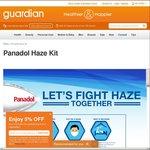 Free Panadol Haze Kit at Guardian Stores