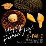 1 for 1 Mao Shan Wang Crispy Belgium Waffles at Tang Tea House/Stuffed Wing Lab