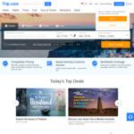 8% off Hotel Bookings at Trip.com (via App, Singtel Dash)