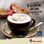 1 for 1 Coffee and Chocolate Beverages at Nando's