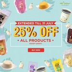 25% Off All Products (Excludes Unisoy) @ Mr Bean Online