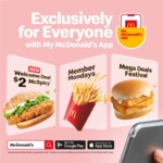 $2 McSpicy (U.P. $3.60-$5.45) for New App Users @ McDonalds