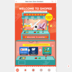 $8 off (No Minimum Spend) at Shopee [New Customers]