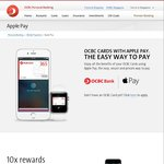 10x Rewards with OCBC Titanium Credit Card Purchases Using Apple Pay