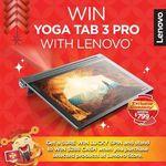 Win a Lenovo Yoga Tab 3 Pro from Lenovo