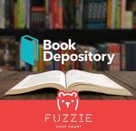 Fuzzie - 50% Cashback on $10 Book Depository Digital Gift Cards/Voucher Codes