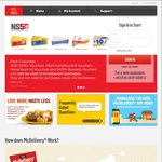Free 2pc McWings and McDonald's McDelivery ($14 Minimum Spend)