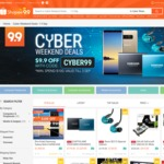 $9.90 off Selected Cyber/Electronics at Shopee