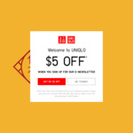 Free Red Packets with Any Purchase at UNIQLO