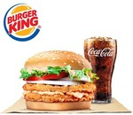 Mentaiko Double Chick'n Crisp Burger With Coca Cola Set for $5.50 (U.P. $8.10) at Burger King via Shopee
