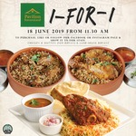 1 for 1 Lamb/Chicken/Mutton Biryani at Pavilion Banana Leaf (Jurong Point, Facebook/Instagram Required)