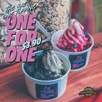 1 for 1 FROYOLO ($3.90) at PasarBella