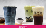 1 for 1 Medium Fresh Milk Tea ($4.50) from The Moment via Fave [previously Groupon]