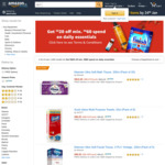 $20 off ($60 Min Spend) on Daily Essentials at Amazon SG