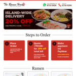 20% off Plus Free Delivery on Orders Over $50 at The Ramen House